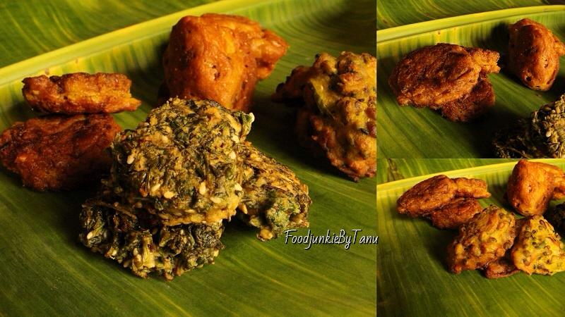 Bengali vegetarian fried snacks