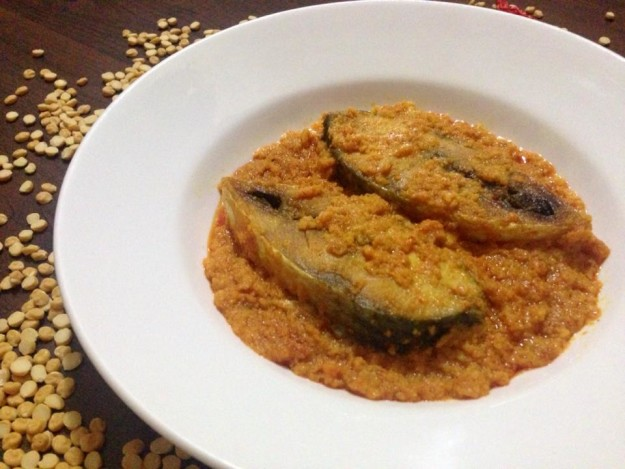 How about hilsa cooked with chana daal?! There is a Bengali way