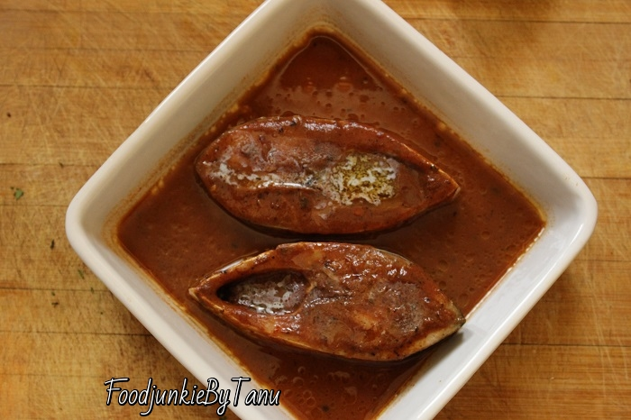 Bengali fish recipe using Illish maachh