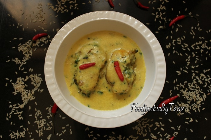 Traditional bengali fish recipe