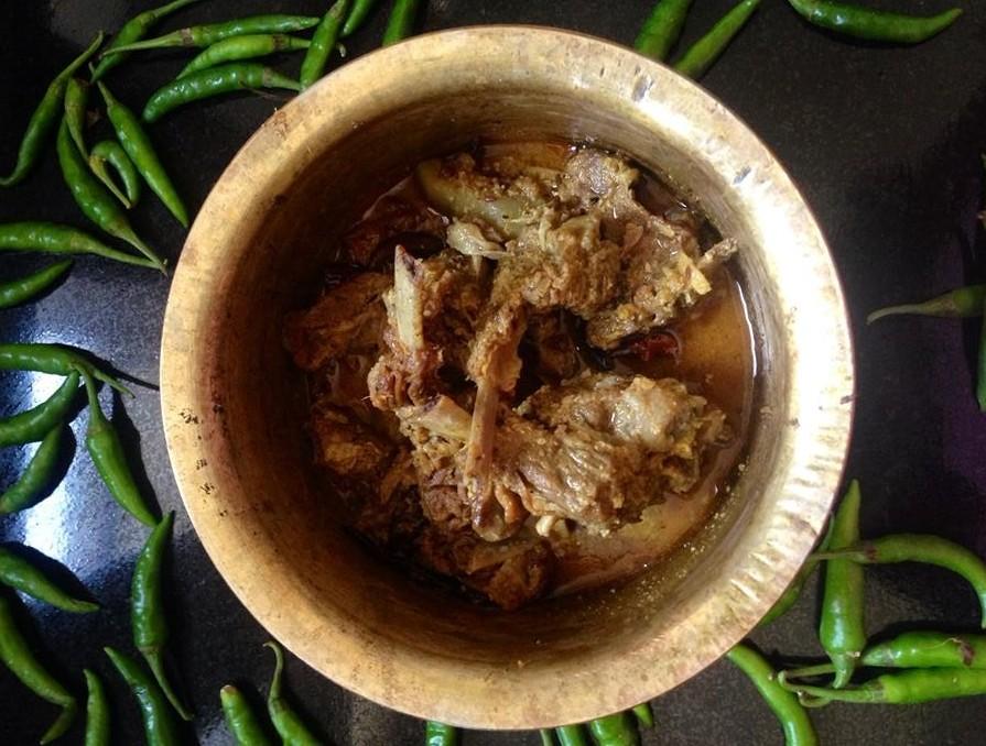 niramish mangsho