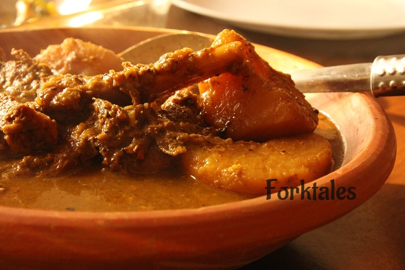 Mezbaan gosht curry from Chittagong