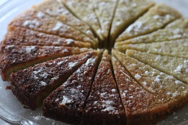 Tea and Ginger Sponge forktales